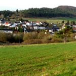 Dorf Niederehe in der Vulkaneifel