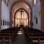 Klosterkirche St. Leodegar Niederehe Innenansicht