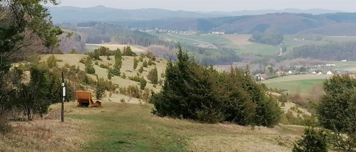 Aussicht Hönselberg in der Vulkaneifel